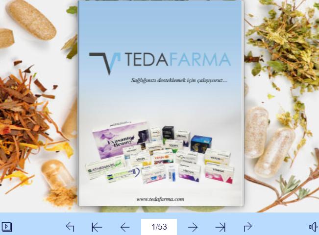 TEDAFARMA Siber Katalog