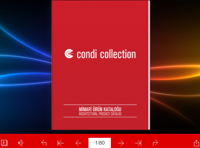 Condi Collection Siber Katalog